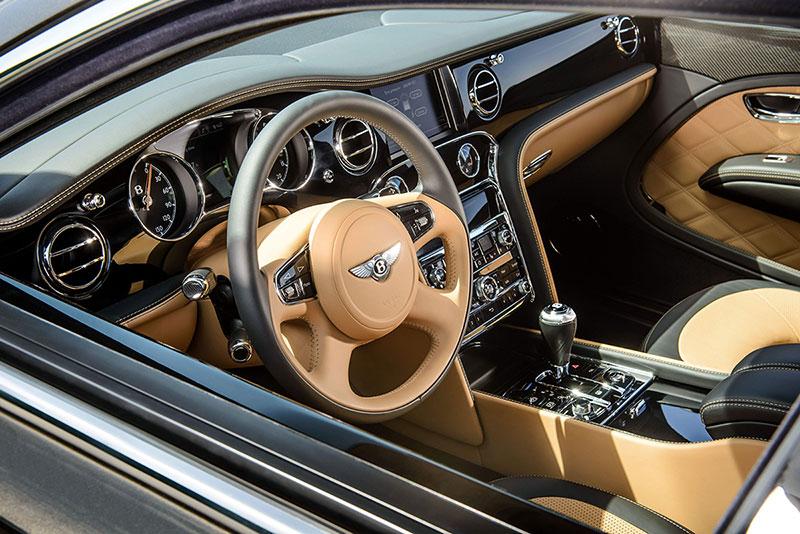 Foto Salpicadero Bentley Mulsanne Speed Sedan 2014