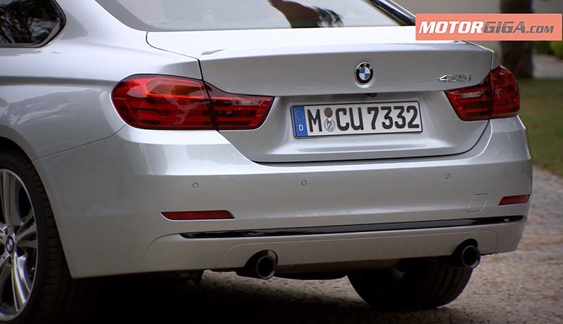 Trasera BMW 435i