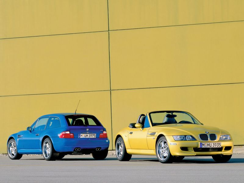 BMW Z3 Coupe y Roadster