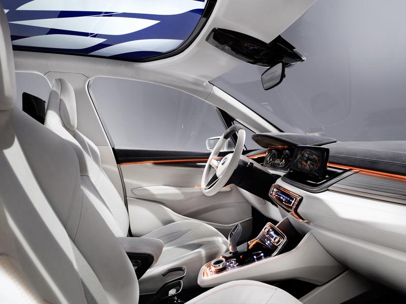 Foto Interiores Bmw Concept Active Tourer Suv Todocamino 2012