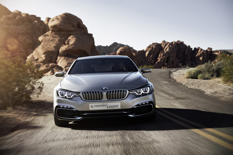 BMW Concept Coupé Serie 4 2012