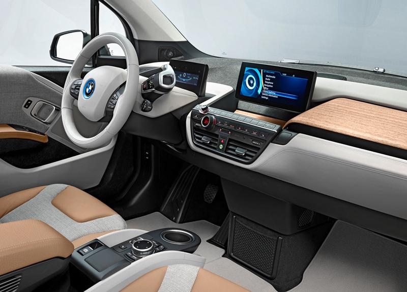 BMW i3 análisis plazas delanteras