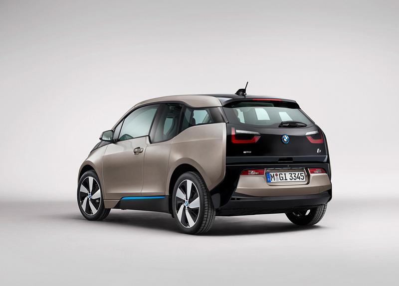 BMW i3 trasera
