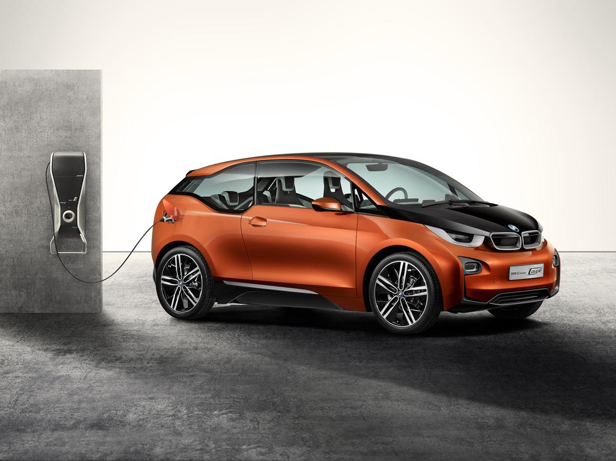 BMW i3 Concept Coupé 2012