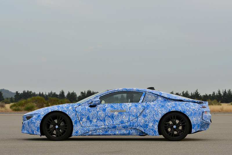 Foto Lateral Bmw I8 Cupe 2013
