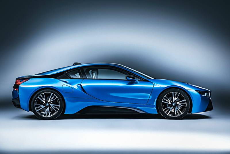 Foto Lateral Bmw I8 Cupe 2014