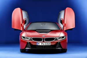 Foto Delantera Bmw I8-protonic-red-edition Cupe 2016
