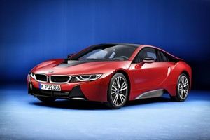 galeria de fotos bmw i8-protonic-red-edition 2016 - exteriores
