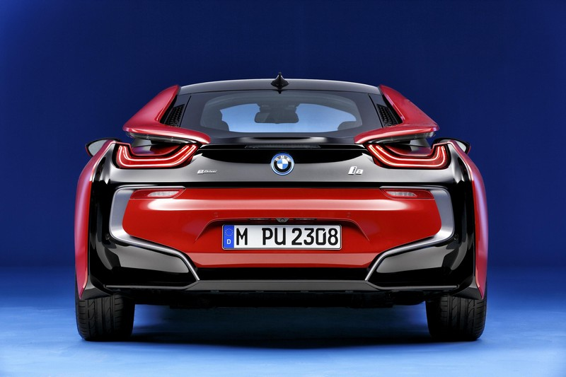 Foto Trasera Bmw I8-protonic-red-edition Cupe 2016