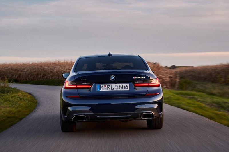 Foto Trasera Bmw M 340 D Xdrive Sedan 2020