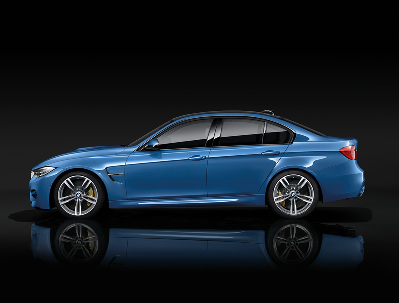 Foto Lateral Bmw M3 Berlina 2013
