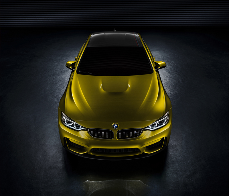 Foto Exteriores Bmw M4 Coupe Concept Cupe 2013