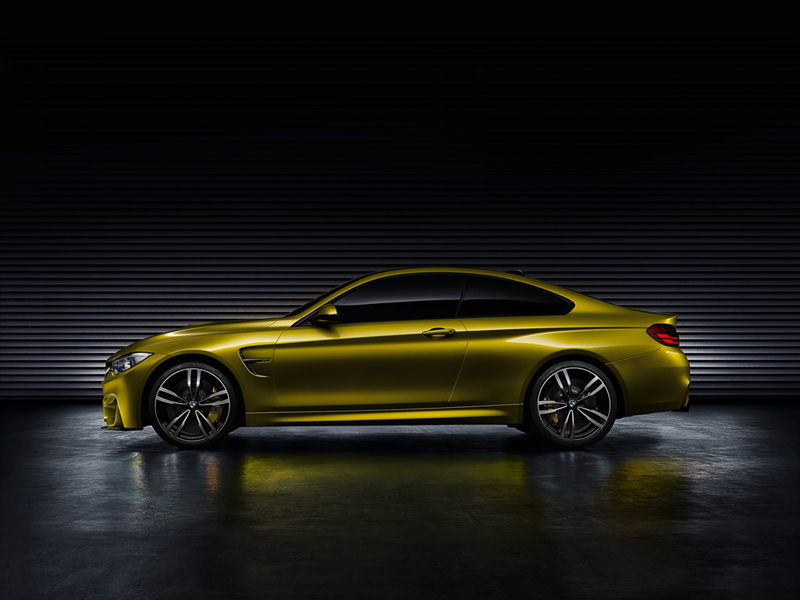Foto Lateral Bmw M4 Coupe Concept Cupe 2013