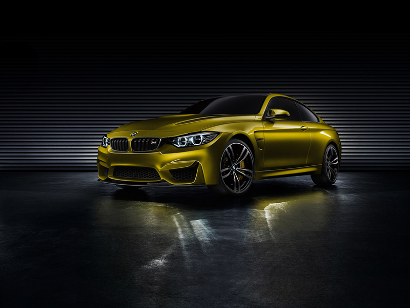 Foto Perfil Bmw M4 Coupe Concept Cupe 2013