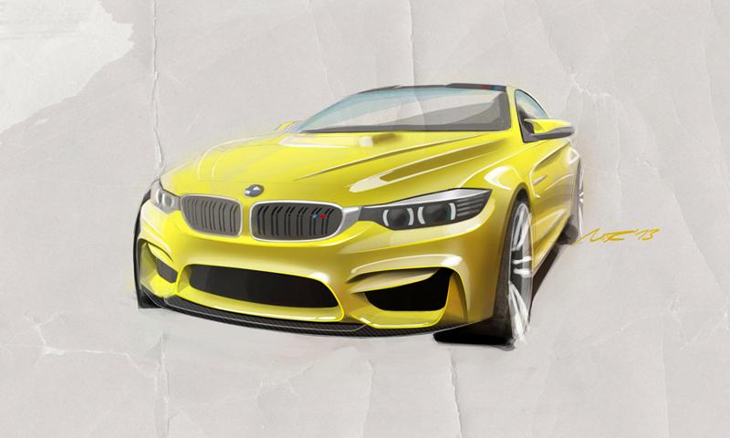Foto Tecnicas Bmw M4 Coupe Concept Cupe 2013