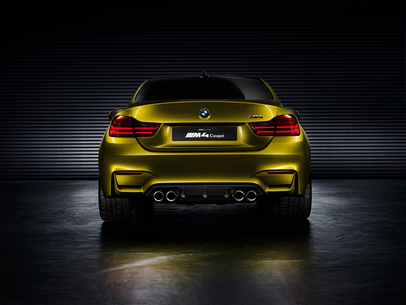 Foto Trasera Bmw M4 Coupe Concept Cupe 2013