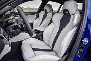 galeria de fotos bmw m5 2017 - interiores