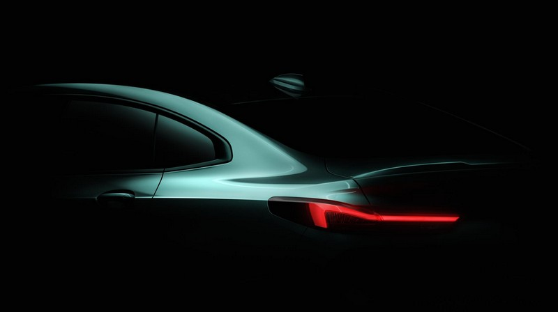 Foto Teaser Bmw Serie-2-gran-coupe Concept 2019