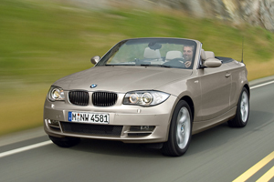 Foto Delantero Bmw Series 1 Descapotable 2008