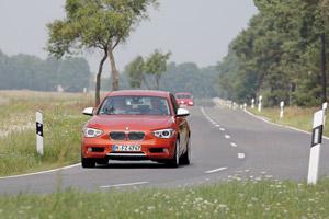 BMW Serie 1, prueba din�mica