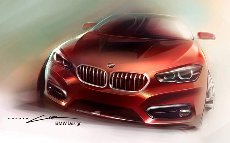Dibujo BMW Serie 1