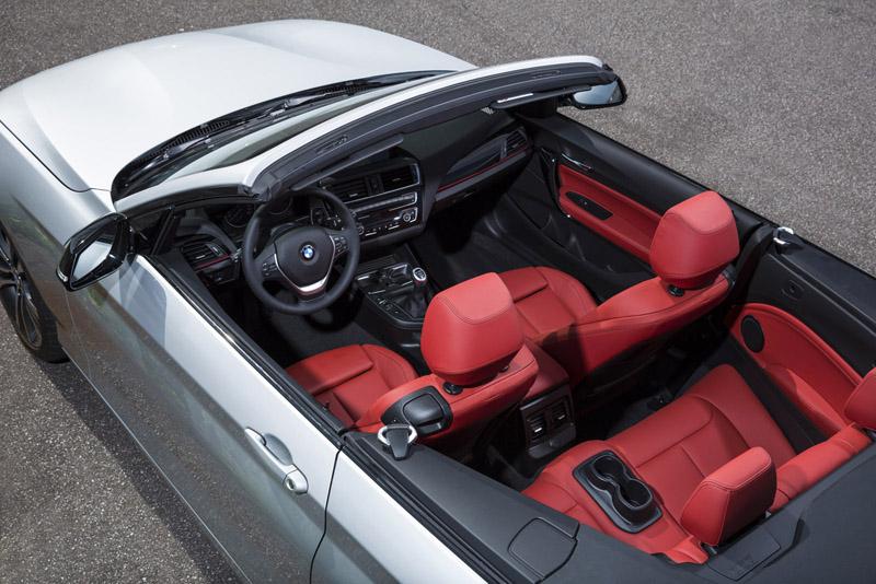 Interiores BMW Serie 2 descapotable