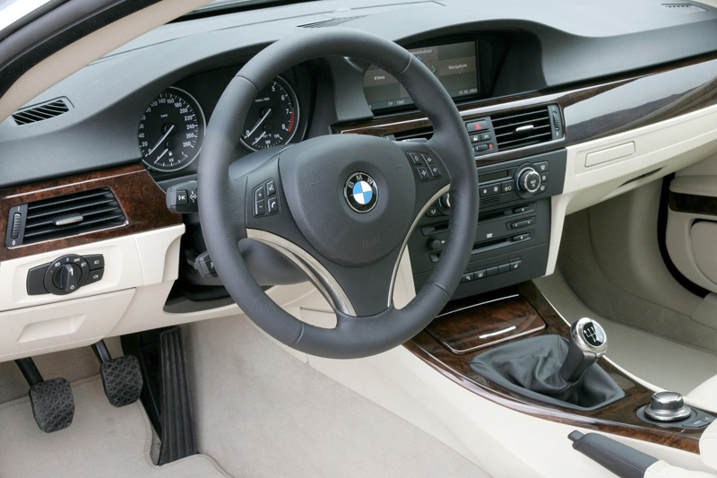 Foto Interiores Bmw Series 3 Cupe 2008