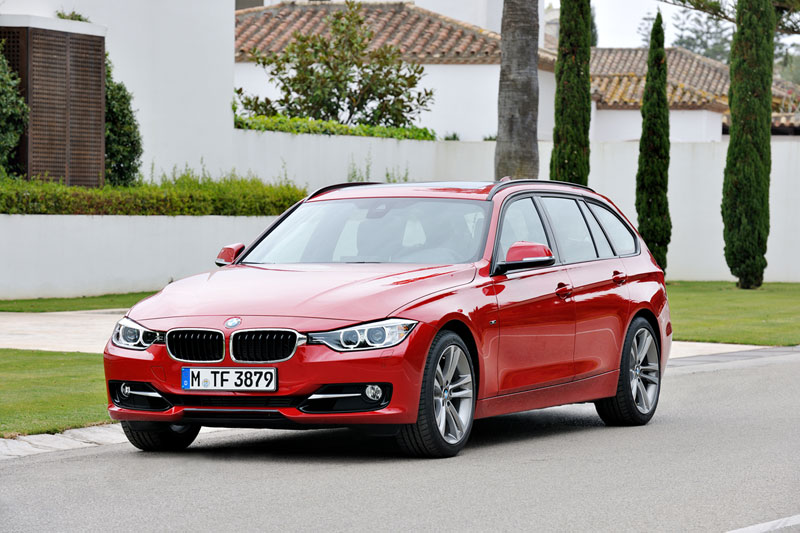 Foto Delantera Bmw Series 3 Familiar 2012