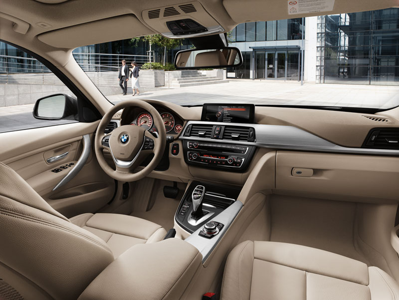 Foto Interiores Bmw Series 3 Familiar 2012