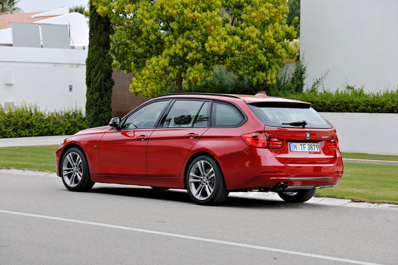 Foto Trasera Bmw Series 3 Familiar 2012