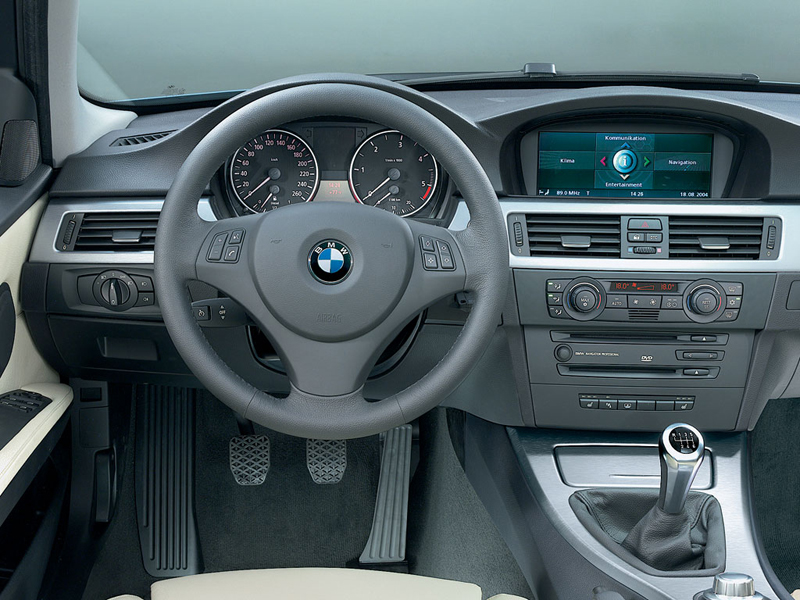 foto salpicadero bmw series 3 sedan 2008. Black Bedroom Furniture Sets. Home Design Ideas