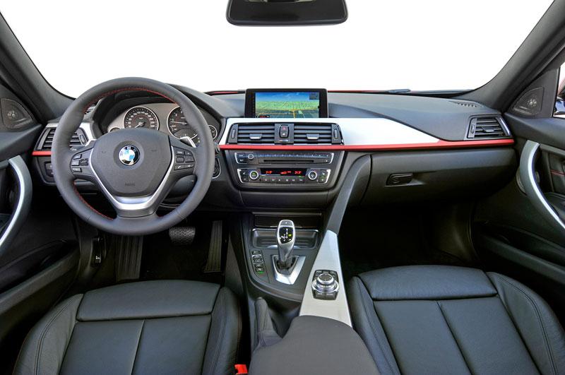 BMW Serie 3 2012, análisis plazas delanteras