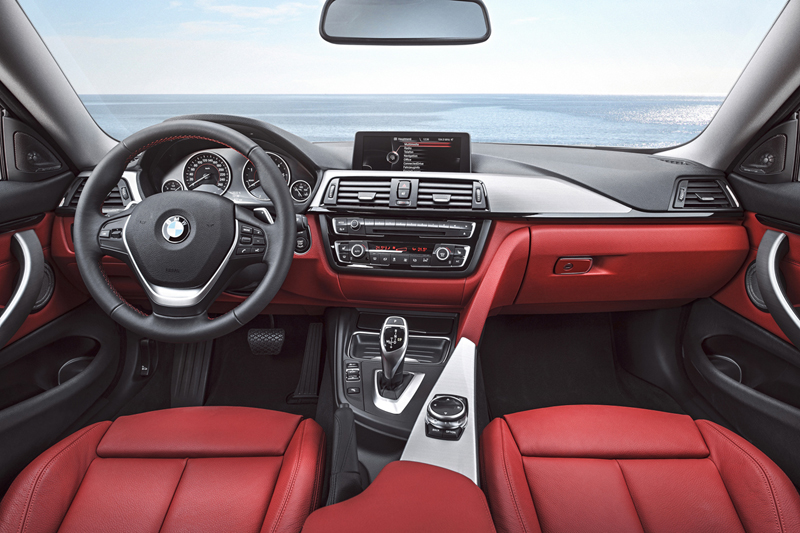 Foto Interiores Bmw Series 4 Coupe Cupe 2013