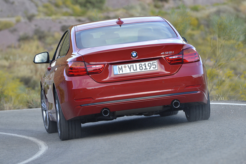 Foto Trasera Bmw Series 4 Coupe Cupe 2013