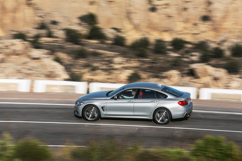 Foto Lateral Bmw Series 4 Gran Coupe Cupe 2014