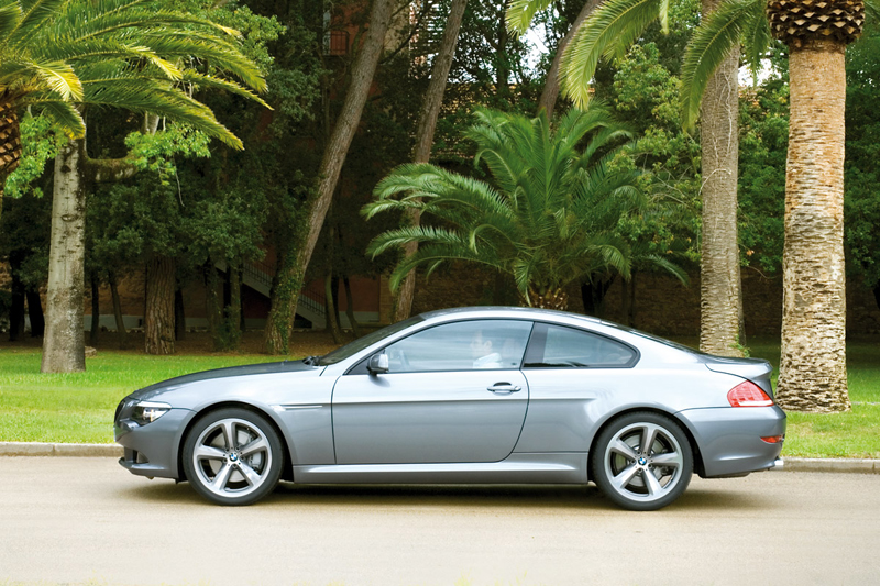 Foto Lateral Bmw Series 6 Cupe 2008