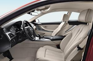 BMW 640i, análisis de interiores