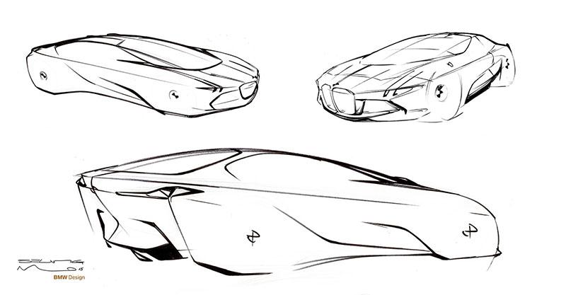 Foto Detalles Bmw Vision Next 100 Prototipo 2016