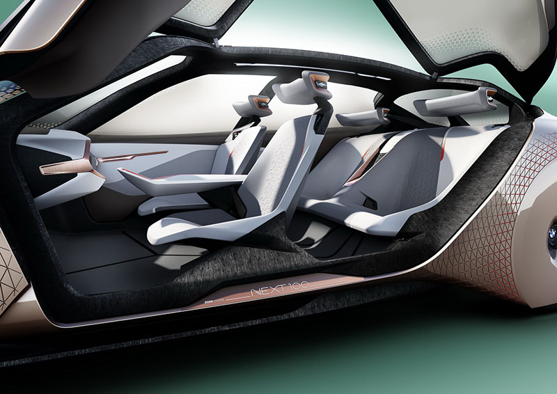 Foto Interiores Bmw Vision Next 100 Prototipo 2016