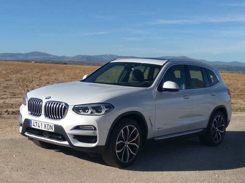 BMW X3 xDrive20d, prueba a fondo
