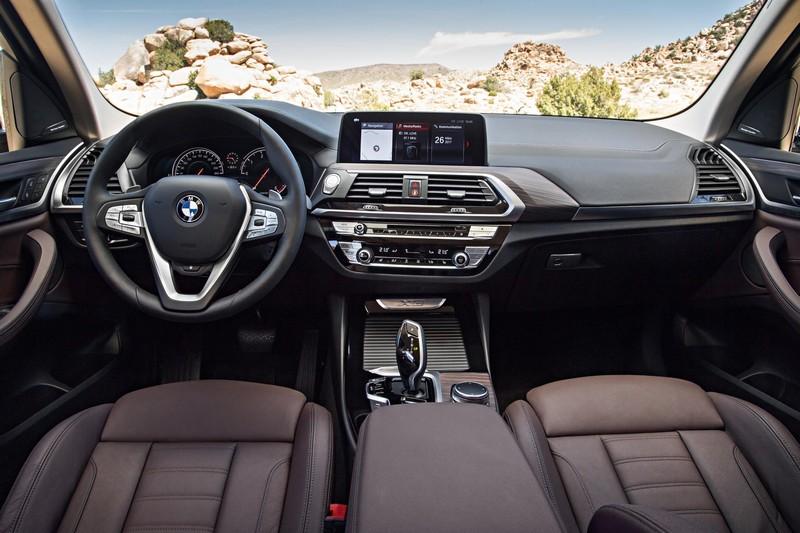 BMW X3 xDrive20d, foto delantera