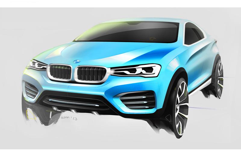 BMW X4 Cocnept 2013