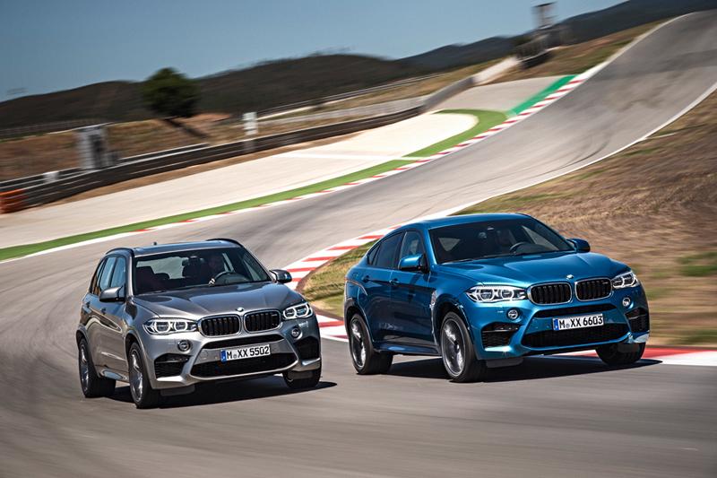 BMW X5 M y X6 M 2014
