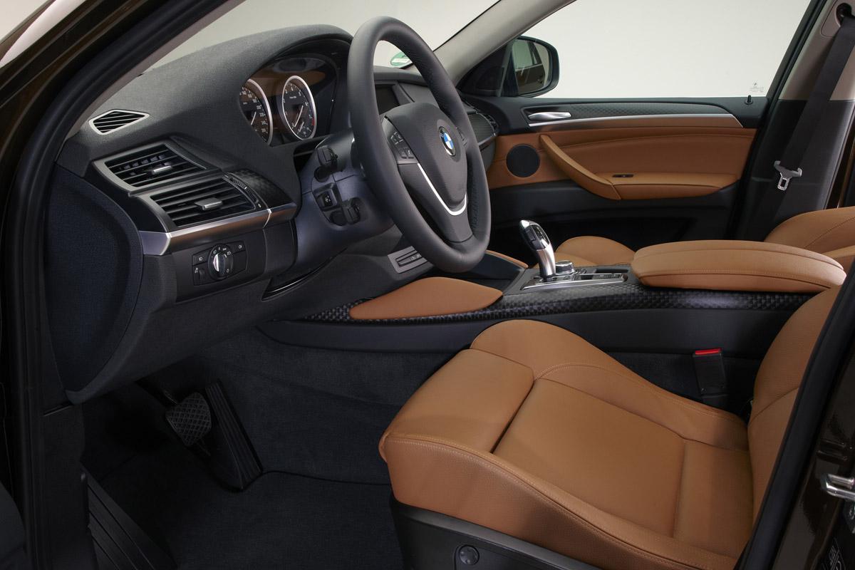 Foto Interiores Bmw X6 Suv Todocamino 2012 , Descargar fondo pantalla 1200px