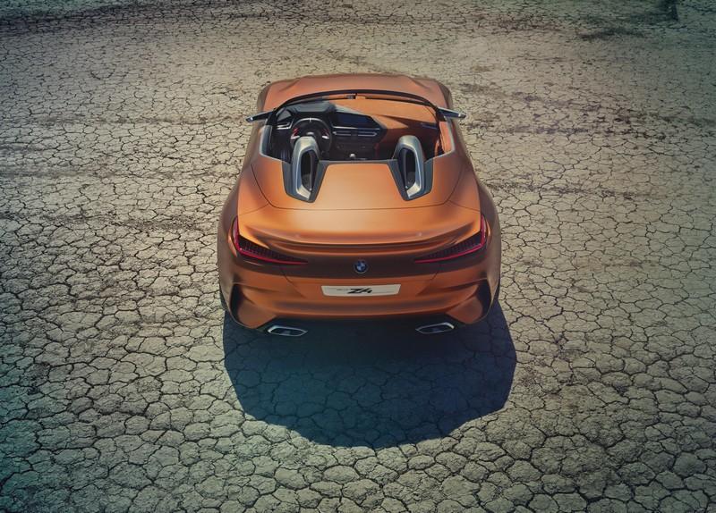 Foto Trasera Bmw Z4 Concept Descapotable 2017