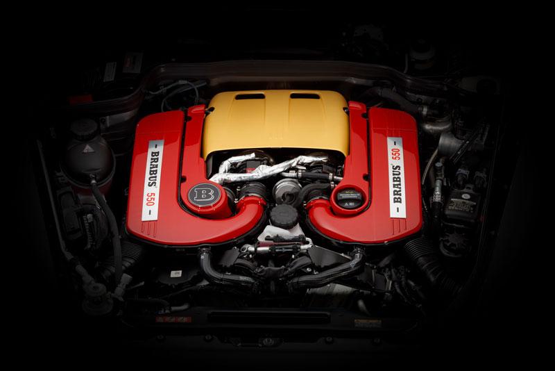 Motor V8 del Brabus 550 Adventure 4x4