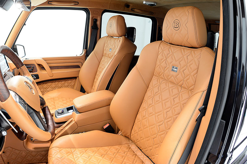 Foto Interiores Brabus 800 G65 Suv Todocamino 2015
