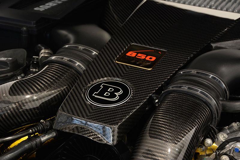 Vano motor Brabus 850 coupe