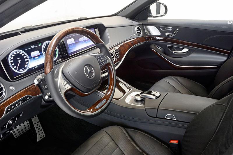 Interior Brabus Clase S Hybrid