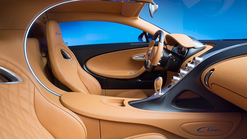 Foto Interiores Bugatti Chiron Cupe 2016